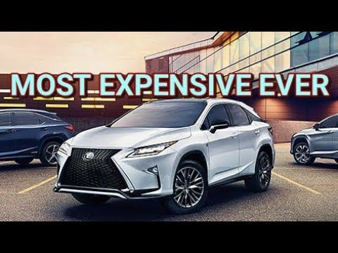 2017 Lexus Rx450h Full Review Luxury Performance Tech Most Expensive Rx Youtube In 2020 Lexus Luxury Crossovers Lexus Rx 350