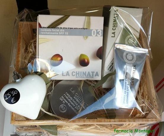 La Chinata:cosmetica natural de aceite de oliva virgen.