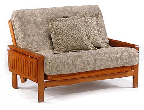 Winston Loveseat Futon Package Night And Day Furniture Futon