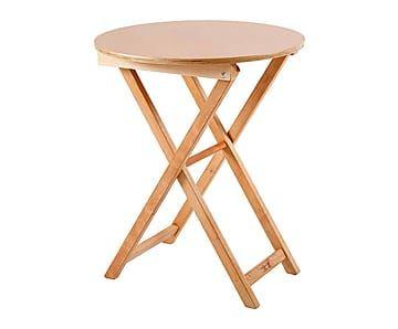 Tisch Carina, klappbar, Buche, Ø 70 cm