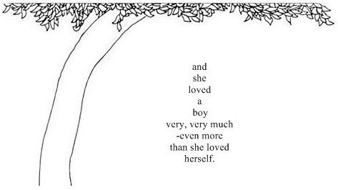 And she loved a boy very very much even more than she loved herself.