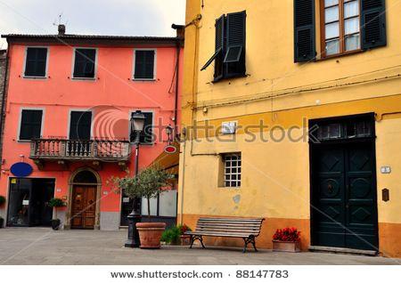 glimpse at Brugnato, La Spezia, Italy - by Maudanros
