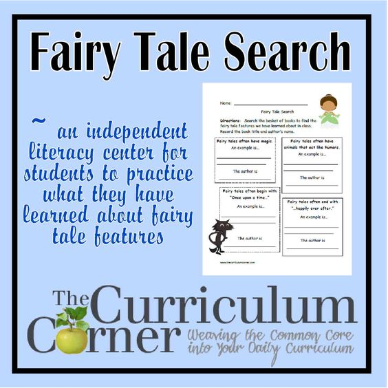 fairy tale search the fairy curriculum and free printables. Black Bedroom Furniture Sets. Home Design Ideas
