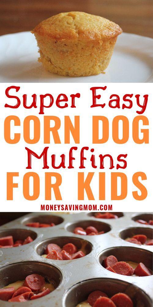 Corn Dog Muffins | Money Saving Mom®
