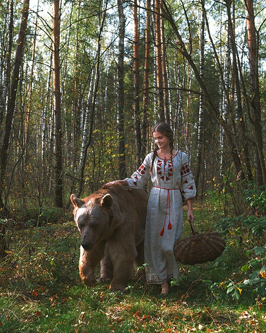 Voice of Nature - enantiodromija:   Marina and bear Stepan //...
