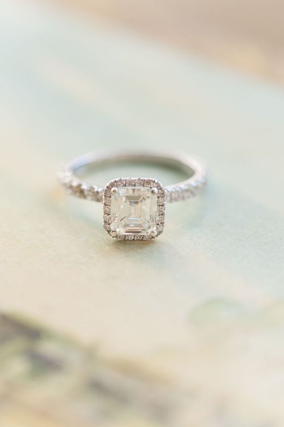 View entire slideshow: Best Engagement Rings of 2015 on http://www.stylemepretty.com/collection/3900/