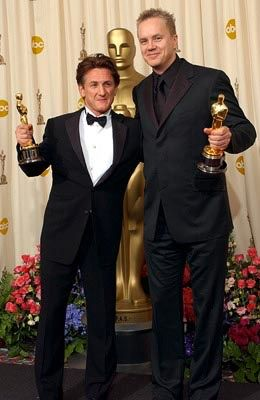 Sean Penn. 2003 Best Actor & Tim Robbins 2003 Best Supporting Actor // both, Mystic River