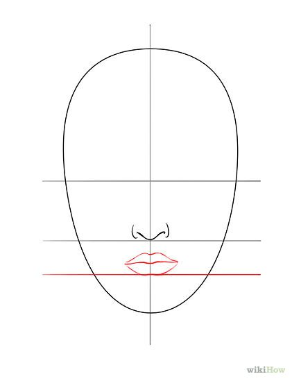 Line Drawing Of Yourself : Dessiner un visage comment maquillage et