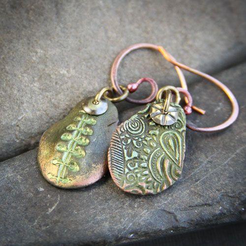 Reversible Tribal Earrings