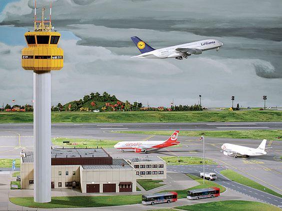 Miniatur Wunderland Flughafen