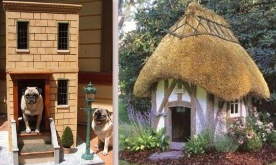 Des niches pour chien originales et insolites chien pinterest - Idee niche pour chien ...