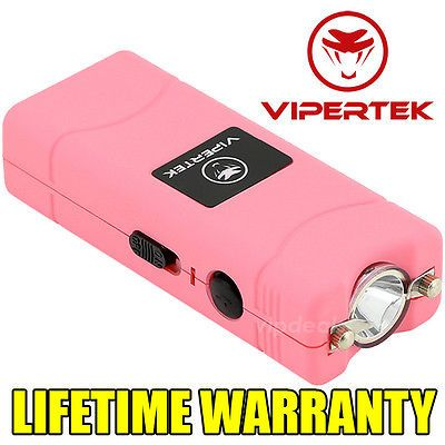 VIPERTEK Stun Gun VTS-881 60 MV Rechargeable Micro Mini LED Flashlight - Pink https://t.co/RiD4vb3OYe https://t.co/jIOqy3ms1W