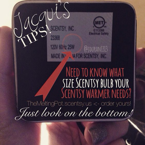 Tuesday Scentsy Tips From Jacqui Need A New Bulb For Your