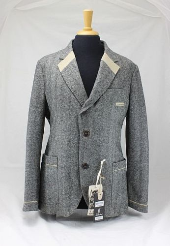 Luis Trenker Herren Jacke Sami Fischgrät Mustert. beige 50 Neu | eBay