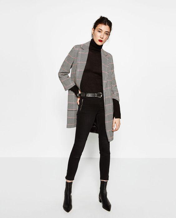 Image 1 de JEAN SKINNY TAILLE NORMALE de Zara