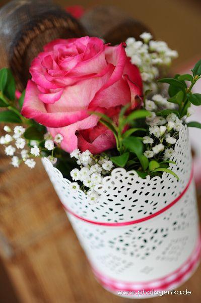 Deko pink and hochzeit on pinterest for Pink deko