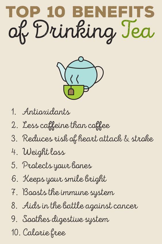 10 Ways Drinking Tea Can Improve Your Health Here S What To Try Health Tea Drinking Tea Tea Benefits Chart