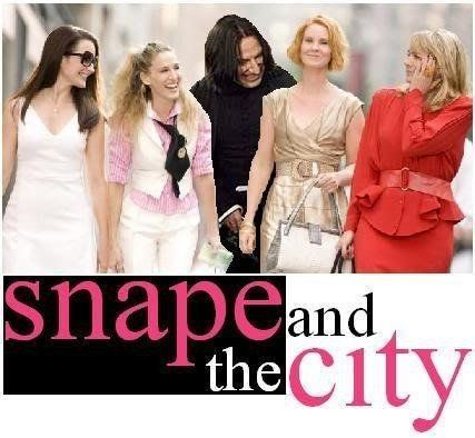 Snape and the City.    *gigglegigglegiggle*
