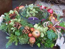 kleineres Tischgesteck Herbstfreuden