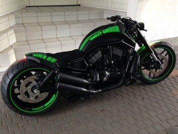 harley night rod special umbau customizing wiesbaden. Black Bedroom Furniture Sets. Home Design Ideas