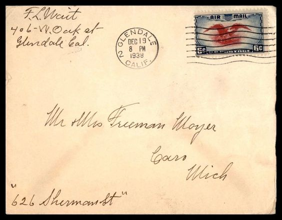 in Stamps, United States, Covers