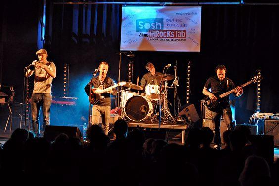 Avangrad à l'open-mic de Montpellier le 26 mars 2014. #soshinrockslab Crédit photos : Laurent Malet
