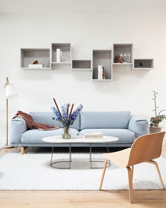 Modern Living Room Grey Timeless Bookshelf Flowers Scandinavian Interior Light Living Room Scandinavian Minimalist Living Room Scandinavian Interior Design