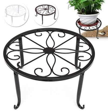 Home Iron Plant Garden Shelves Metal Plant Stand