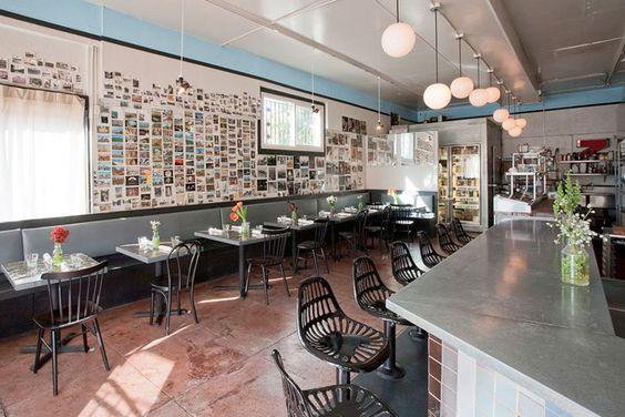 Citizens Band Restaurant interior design by Geremia, San Francisco..
