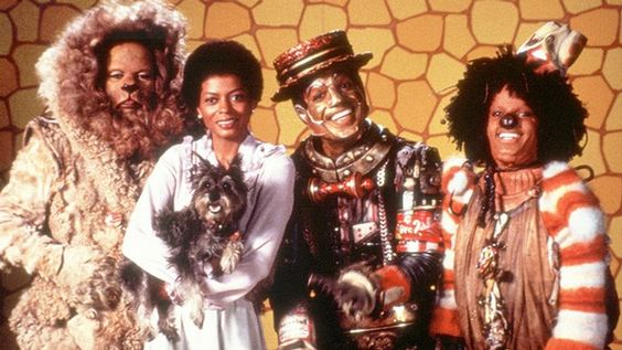 The Wiz - starring Diana Ross as Dorothy, Michael Jackson as Scarecrow, Nipsey Russel as Tinman, and Ted Ross as Lion. <3