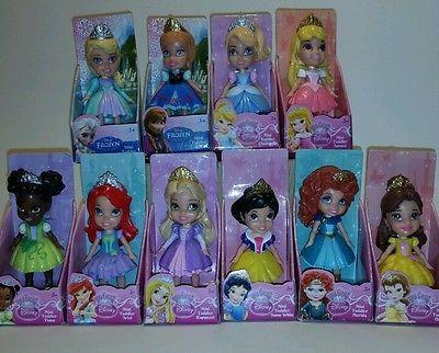 11 Mini Toddler Dolls My First Disney Princess Friends