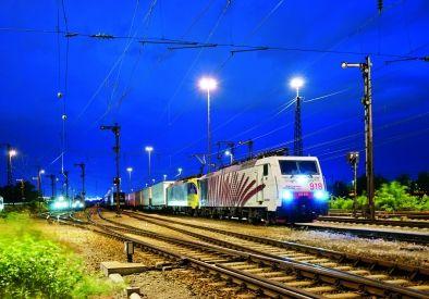 Germany - Kombiverkehr freight train - München-Ost