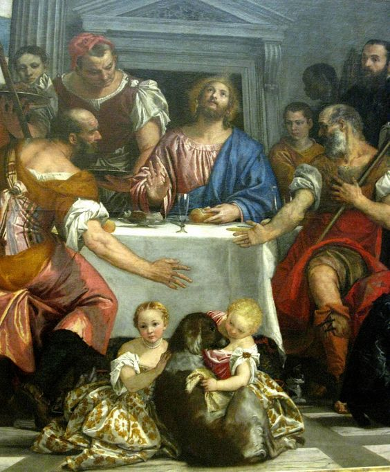 Paolo Veronese, The Wedding at Cana, 1559, detail | Art ... Wedding At Cana Veronese