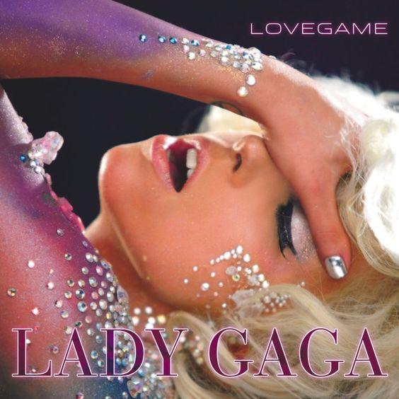 Lady Gaga – Love Game (single cover art)