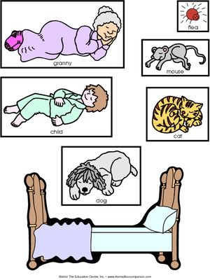 The napping house kindergarten lesson plan