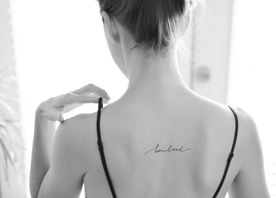 Cutsom Handwriting Tattoo Design by Pasadya on Etsy:
