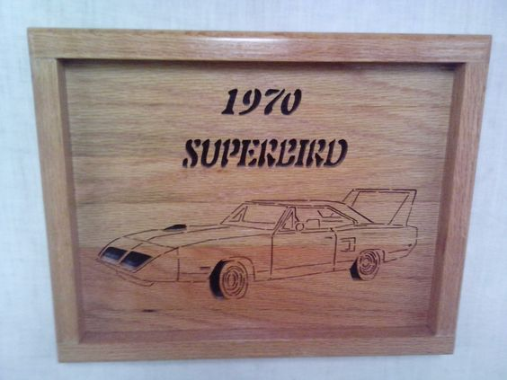 1970 Pymouth Superbird by Rickswoodworks1 on Etsy