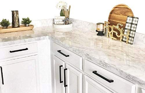 Beautiful Ez Faux Decor Self Adhesive White Gray Marble Granite