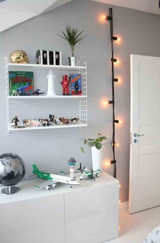 子ども部屋 照明 デコレーションライト ブラック イメージ