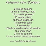 Awesome Arm Workout!