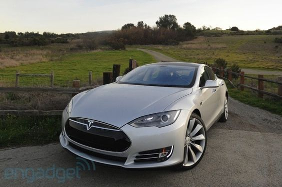 The new improved Tesla Model S, an all-electric dream car