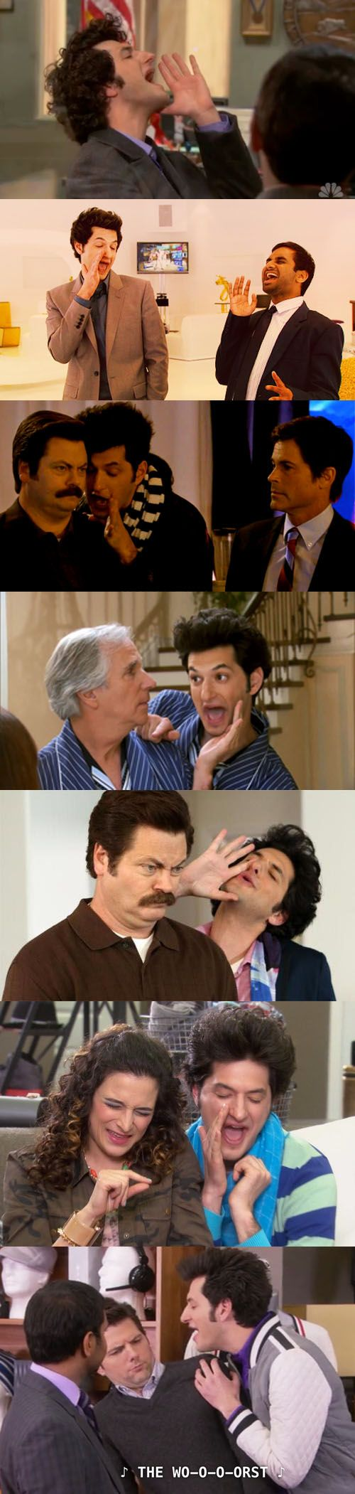 I love you, Jean Ralphio. Even though you're the *wooorrsssst*