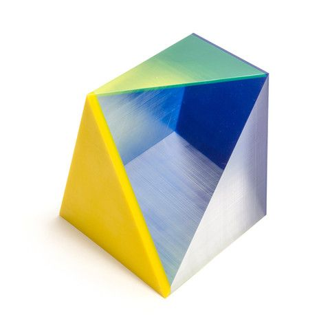 Yellow and Blue Sculpture