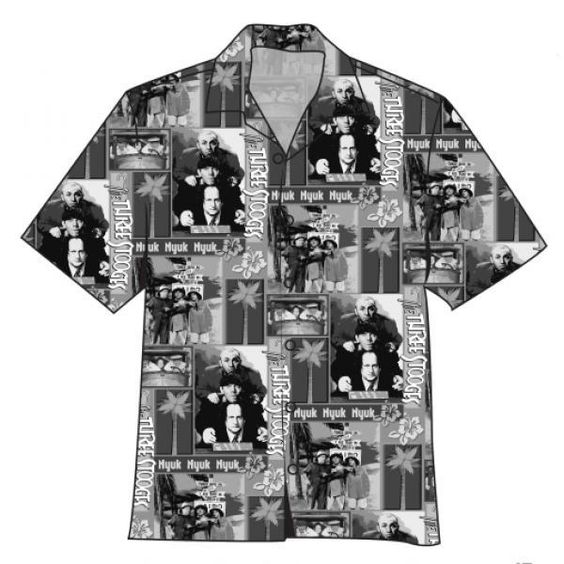 3 Stooges Vacation Camp Shirt