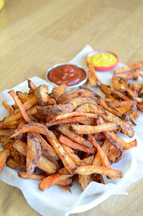 Homemade French Fries 11 - **great recipe! soak in water first to make ...