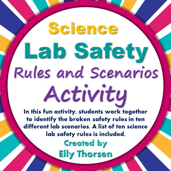 Lab safety science lab safety and safety rules on pinterest