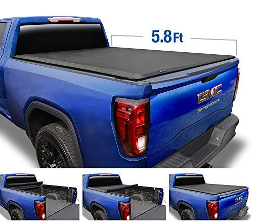 Tyger Auto T1 Roll Up Truck Tonneau Cover Tg Bc1c9053 Works With