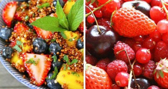 Insalata di frutta agrodolce con quinoa - Food Confidential