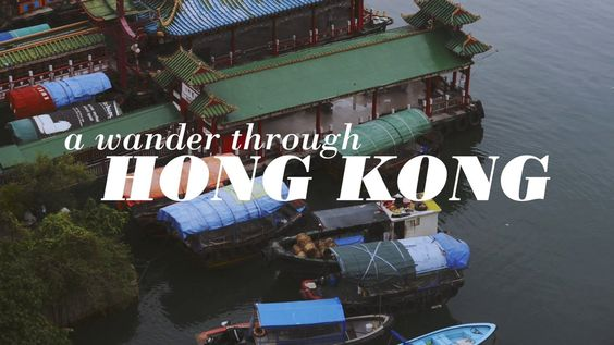 A wander through Hong Kong