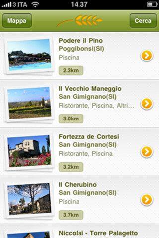 App iPhone Agriturismo.it